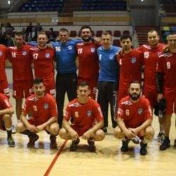Victorie albastră pentru handbaliștii arădeni: ACS Avram Iancu – Poli Timişoara 31-30