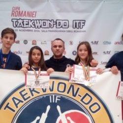 Sportivii Takeda Arad, de patru ori medaliați la Cupa României de  taekwondo