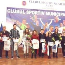 Superlativele anului 2016 la CSM Arad - premiate într-un cadru festiv