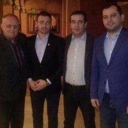 Reprezentanți ai CJ Arad au onorat Balul Arbitrilor din Bekes, maghiarii vin la fotbal la finalul săptămânii