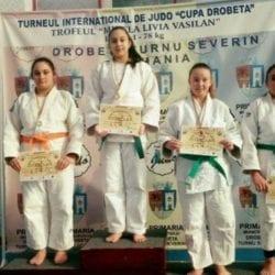 Medalii pentru judoka arădeni la Cupa Severinului
