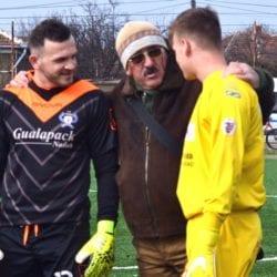 Țamboi, prins la mijloc la meciul UTA III – Criș: Le-a dat aceleași sfaturi ambilor portari!