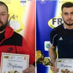 Captari și Cazacu au strălucit la Cupa României de haltere