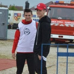 Man le-a purtat noroc foștilor colegi la primul meci ca spectator de la plecarea la Steaua