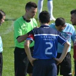 Arbitrii etapei a 25-a în Liga a IV-a Arad: Ardelean fluieră Crișul în  meciul de totul sau nimic de la Sântana