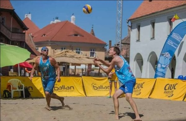 Volei pe plajă: Mascovits - Vârlan - pe 3 la Cluj, înainte de turneul de la Arad
