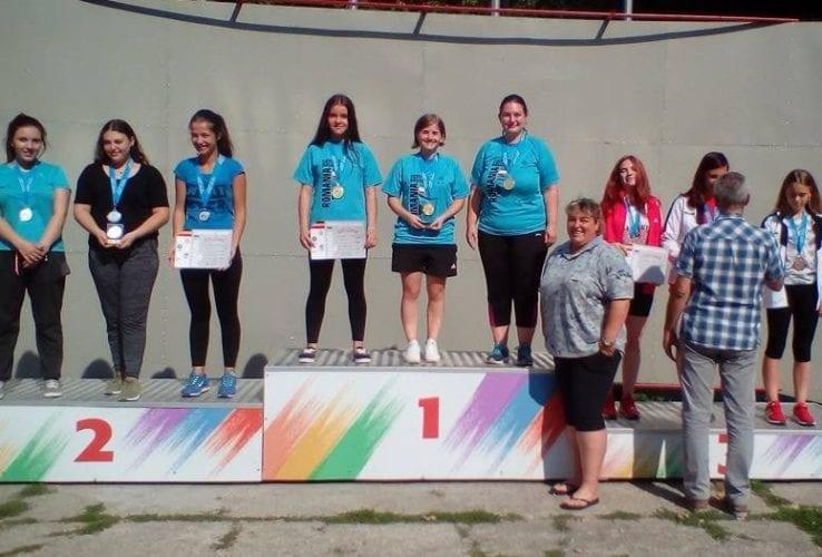 """Codrean și echipa feminină de pistol a CSM-ului, pe cea mai înaltă treaptă a podiumului la """"naționalele"""" de juniori mari"""