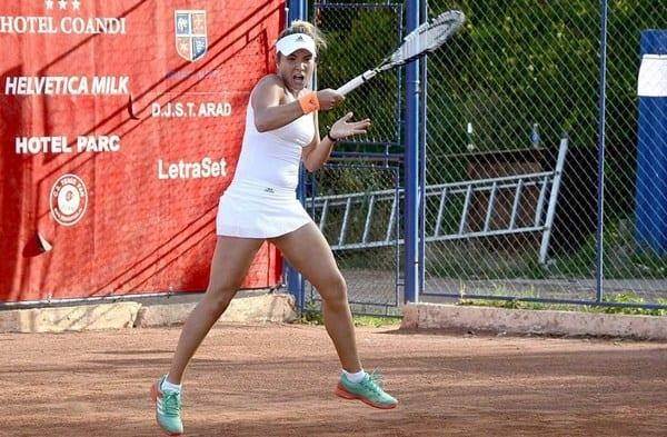 Favorita Ruse și alte patru românce s-au calificat în turul secund al ITF Arad
