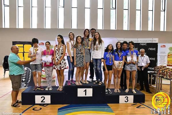 Argint și bronz pentru șahiștii de la Vados la naționalele pe echipe din Capitală