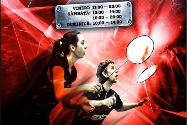 """A început """"Romanian Junior"""" la Arad! Trei zile de  badminton pe parchetul Sălii Polivalente"""
