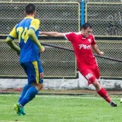 """Dinculescu, la debutul oficial în Liga 2-a: """"Eram pregătit de ceva timp, dar e o zi tristă atâta timp cât echipa a pierdut"""""""