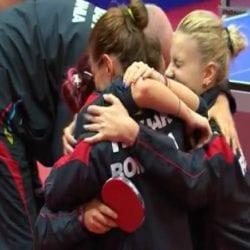 Game, set, match Dodean cu Germania: România e campioană europeană la tenis de masă!