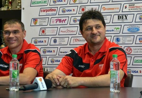 """Falub, la revenirea la UTA: """"Un club greu de antrenat, dar e și frumos. Fanii îți dau starea de spirit, o victorie cu Poli e ceva unic"""""""