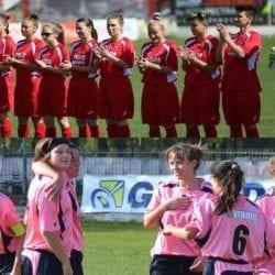 Obiective diferite pentru echipele de fotbal feminin ale Aradului ce se duelează chiar în prima rundă! Piroș Securtity s-a întărit pentru o nouă promovare