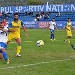 """Marcator în ultimele două etape, Săulescu încearcă să-i dea gol și UTA-ei: """"Jocul Sebișului este din ce în ce mai consistent, sperăm să câștigăm următoarele meciuri"""""""