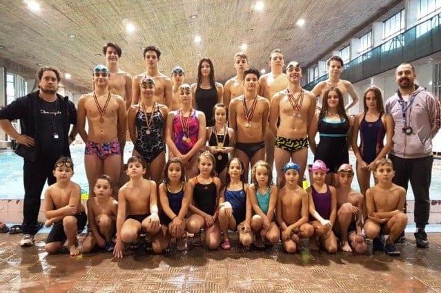 Prezențe numeroase pe podiumul Cupei Aradului din rândul înotătorilor de la CSȘ Gloria