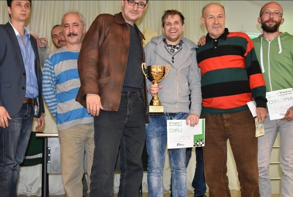 Maestrul internațional, Adi Petrișor, cel mai bun la Cupa Vados la șah rapid