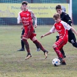Calificare en-fanfare în sferturile Cupei: UTA Under 17 - CSȘ Drobeta Turnu Severin 9-0