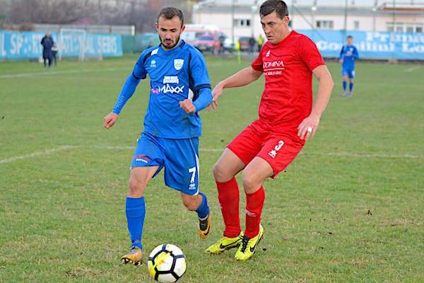 Convingători la final de cantonament: Național Sebiș - Unirea Sântana 3-0