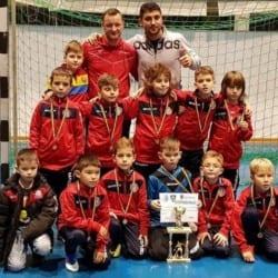 """Viitorul 2009, locul 3 la Cupa Moș Crăciun Luceafărul Severin: """"Intimidați de numele lui Hagi..."""""""