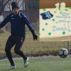 """Lipovanul Lupșe și-a sărbătorit majoratul în cantonament: """"Asta e viața de fotbalist, în retur îmi propun să joc mai mult"""""""