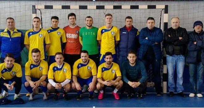 Campionatul Județean de Futsal: Pecica a avut de furcă cu Șeitinul, dar tot și-a tăiat partea leului acasă
