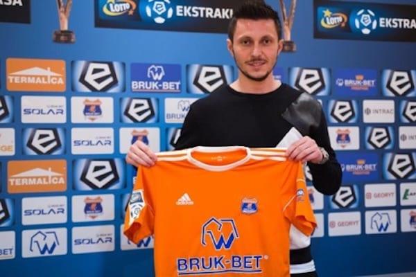 Purece va juca în prima ligă poloneză: Arădeanul a semnat cu Termalica până în 2020