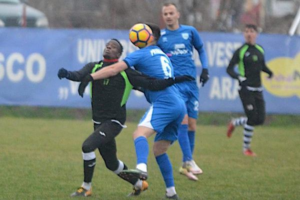 Diferență clară de pregătire și eșalon: Național Sebiș - ACS Poli Timișoara 0-4