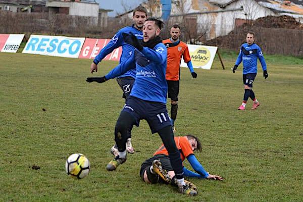 Amical cu aer de Liga 3-a: Național Sebiș - Crișul Chișineu Criș 1-1