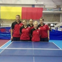 Echipele de tenis de masă ale CSM-ului reîncep întrecerile pe puncte la Dumbrăvița și Bistrița