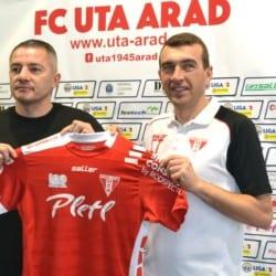 """La echipă nouă, logo nou pe tricoul UTA-ei! Todea: """"Marele plus - un vestiar mai puternic, iar bugetul de salarii nu are legătură cu prestația din teren"""""""