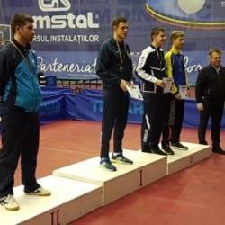 Arădeanul Adi Dodean e vicecampion național la tenis de masă!