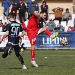 """Debut pozitiv pentru Roșca în """"alb-roșu"""": """"Poate că Sibiul ne-a subestimat, ca fotbalist te gândești cum să-i faci fericiți pe toți cei care susțin echipa"""""""