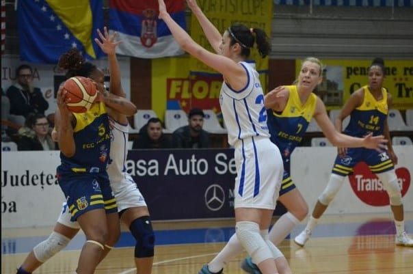 Final de sezon pe locul 7: CSU Alba Iulia - FCC ICIM Arad 65-84