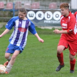 Festival de goluri în derby-ul arădean la fotbal feminin: CS Ineu - AC Piroș Security  4-8 + foto