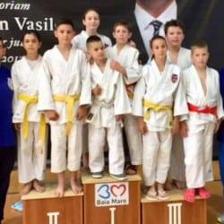 Patru medalii pentru judoka CSM-ului la Cupa Nordului