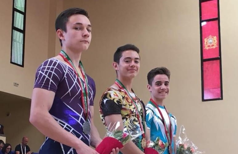 Gimnastica aerobică românească a luat cinci medalii la Gimnaziada din Maroc, arădeanul Țavoc a pus umărul la patru!
