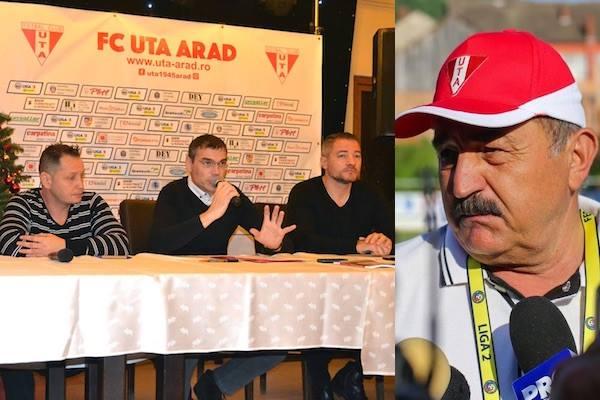 UTA, tot în șah - mat: Actuala conducere rămâne demisionară, Ionuț Popa și-a manifestat și el intenția să plece, ce face Aradul?