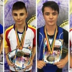 """Medalii prețioase pentru halterofilii AMEFA-ei la """"naționalele"""" Under 17"""