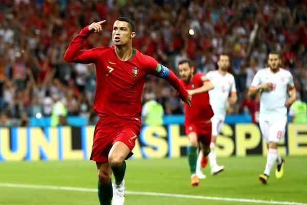 ˝Hattrick˝-ul lui Ronaldo nu a fost îndeajuns: Portugalia - Spania  3-3