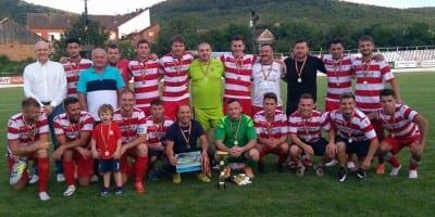 """Răzbunarea """"alb-albaștrilor"""" a venit în Supercupă: Crișul Chișineu Criș – Victoria Zăbrani  1-0"""