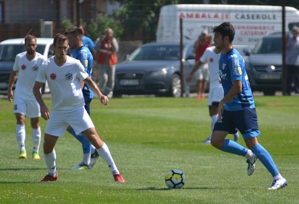 Manea a decis un amical tern: UTA - Szeged Grocsis Akademia 1-0