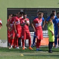 """Un ultim test reușit pentru """"sămădăi"""" cu Tănase pe teren: Gloria Lunca Teuz Cermei - CS Ineu 2-1"""