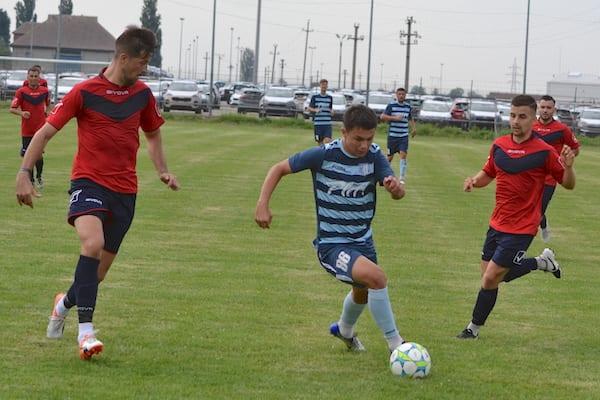"""Juniorii """"șoimilor"""" au făcut diferența la Graniță: Curtici - Lipova 0-2"""