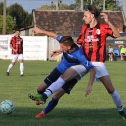 Primul derby a rămas nedecis: Frontiera Curtici - Unirea Sântana 1-1 +Foto