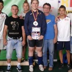 Șase medalli de argint pentru halterofilii CSM Arad la naționalele de tineret