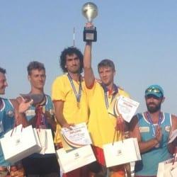 Aur și bronz pentru arădeni la naționalele de beach-volley