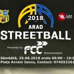 Arad Streetball - inclusă și în acest an în calendarul zilelor orașului: Întâlnirea e pe 25 august, în Piața Avram Iancu