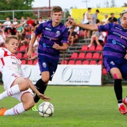 """""""Puștii"""" lui Aslău au trăit periculos în derby: UTA Under 17 - ASU Poli  1-1"""