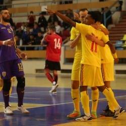 """Futsal: România - Albania 3-1, în primul amical de la Polivalenta arădeană. """"Returul"""" se joacă mâine, la ora 12"""